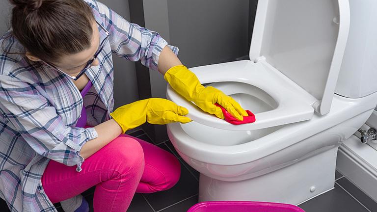 como eliminar el sarro del wc
