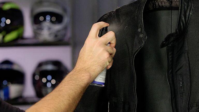como lavar una campera de cuero