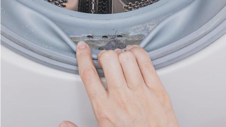 Como quitar las manchas de moho de la lavadora