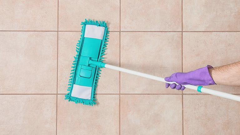 como limpiar el piso de ceramica