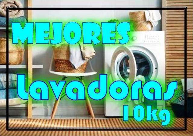 Mejores lavadoras 10kg