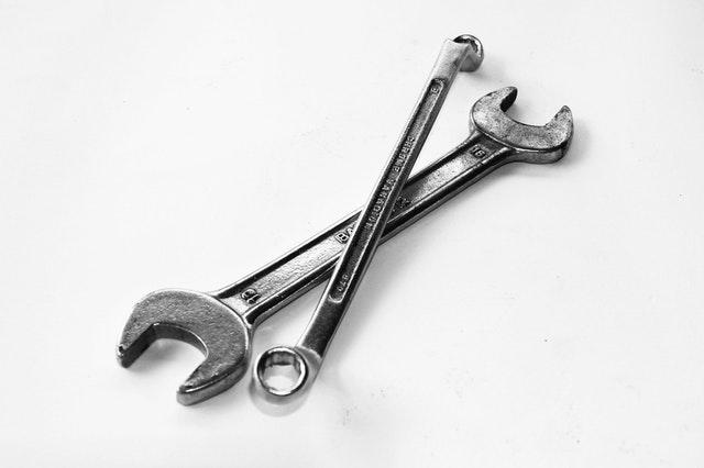 Limpiar herramientas de acero inoxidable
