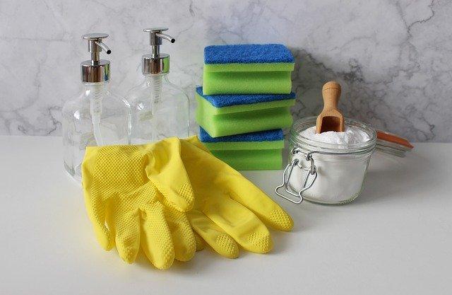 Limpiar un colchón con bicarbonato