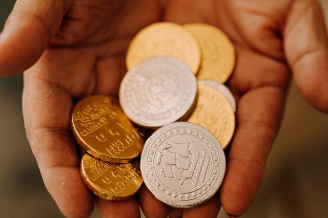 Quitar óxido a monedas