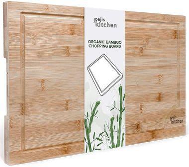 joeji's Kitchen Tabla de Cortar Cocina de bambú Premium