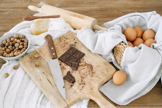 Limpiar chocolate de superficies