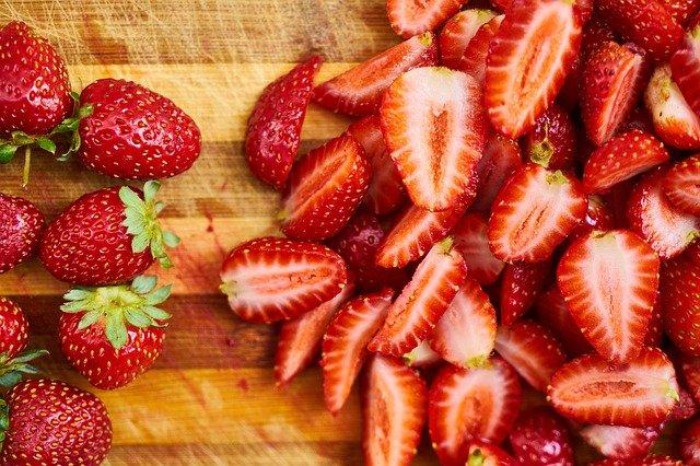 Consejos para quitar manchas de fresas