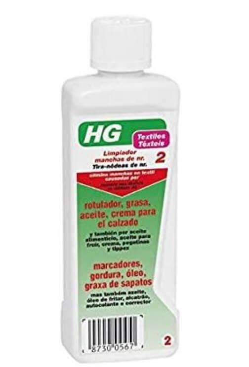 HG – Limpiador de manchas de tinta y rotulador.