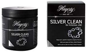 Hagerty – Hagerty Silver Clean Limpiador por inmersión de joyas de plata y pieza plateadas