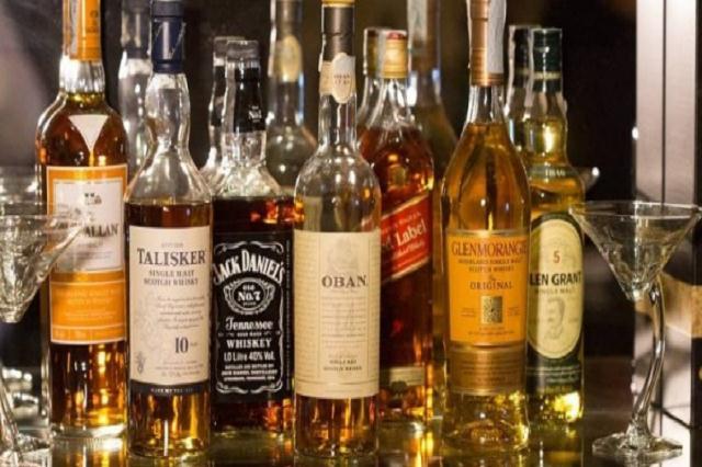Manchas de Whisky