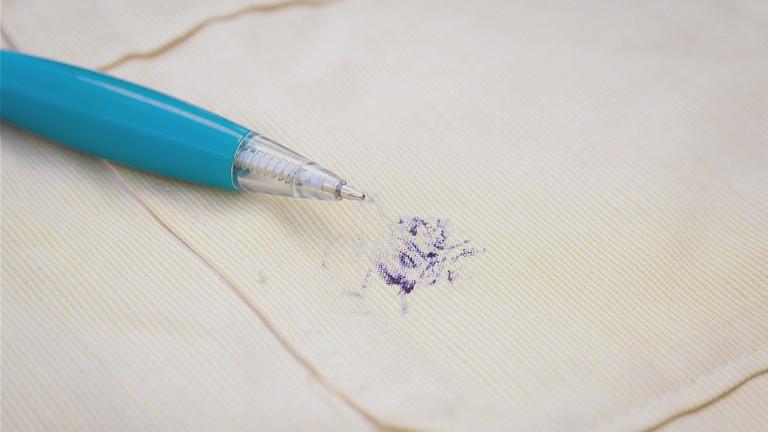 Quitar manchas de tinta con laca