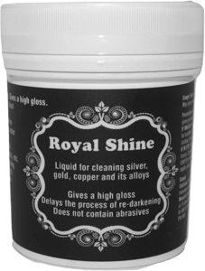 Royal Shine – Solución limpieza para oro y plata