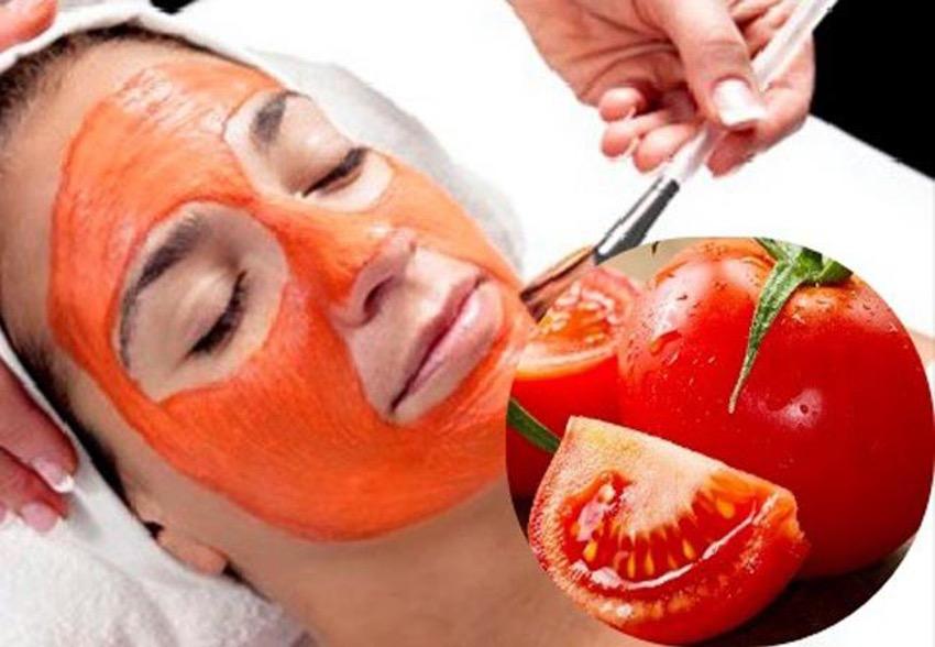 cuidar tu cara con tomate