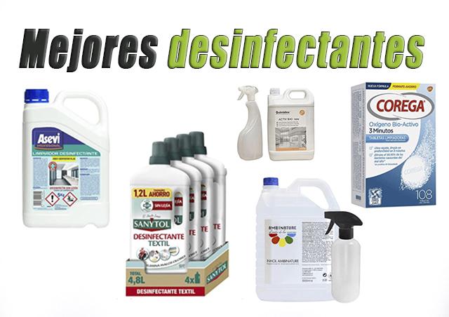 mejores desinfectantes