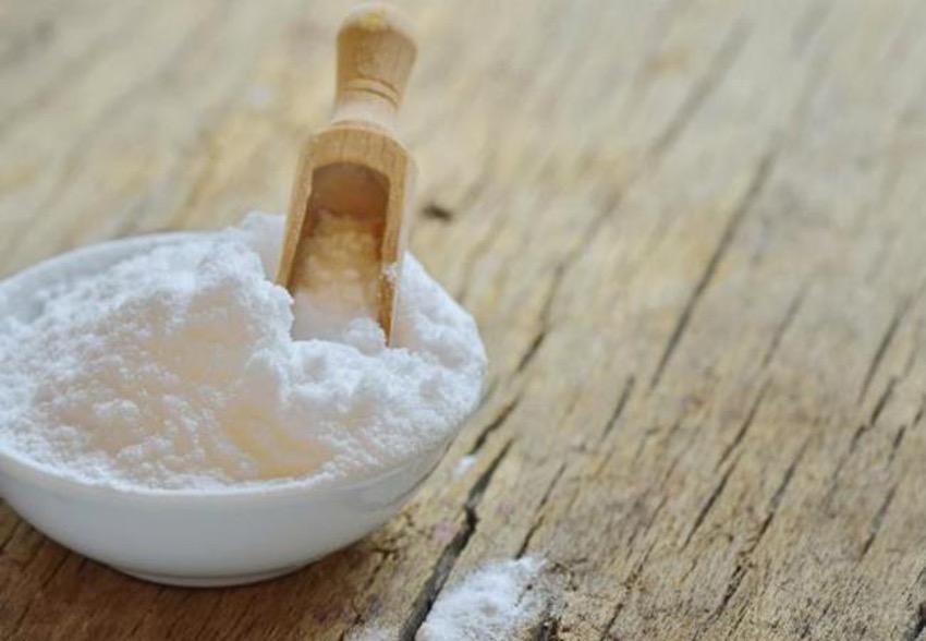 quitar mancha con bicarbonato